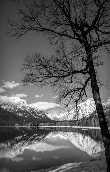 McDonald Lake - Glacier Park by 365karly1