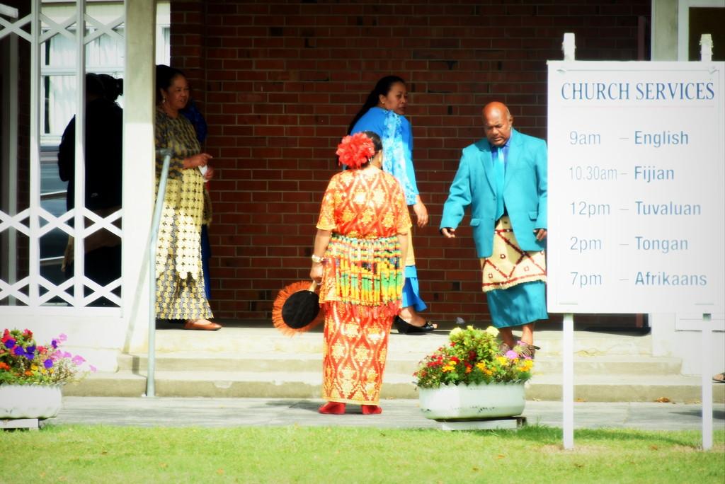 Tongan Congregation by nickspicsnz