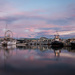 Sunrise over V&A Waterfront by mv_wolfie