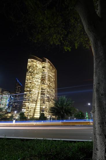 Corniche road, Abu Dhabi by stefanotrezzi
