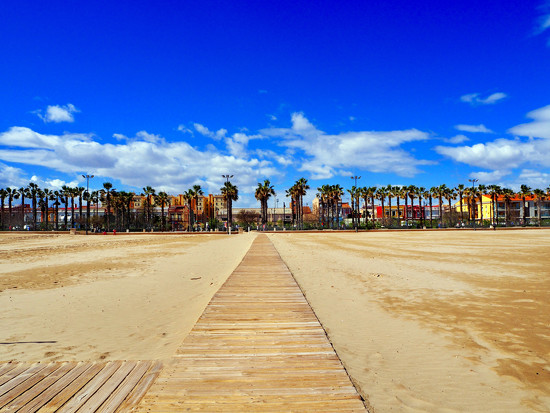 Beach at Valencia by suesmith