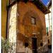Rustic architecture, Pienza, Italy (Tina's photo, my edit)