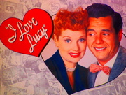 13th Mar 2018 - I love Lucy on rainbow colour