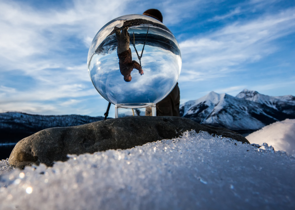 Glacier Globe by grizzlysghost