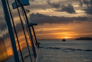 15th Mar 2018 - Sunrise from the ferry