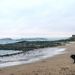 Ness on the empty beach