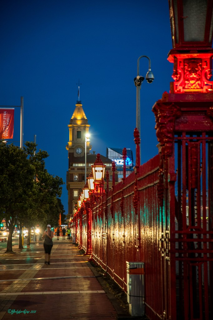 Downtown Auckland by yorkshirekiwi