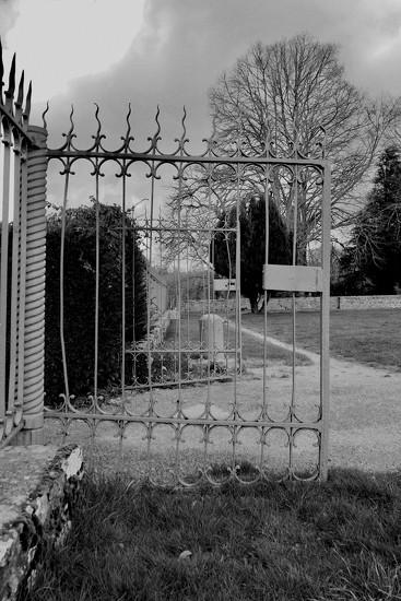 Gates, Esplanade, Paimpont. by s4sayer