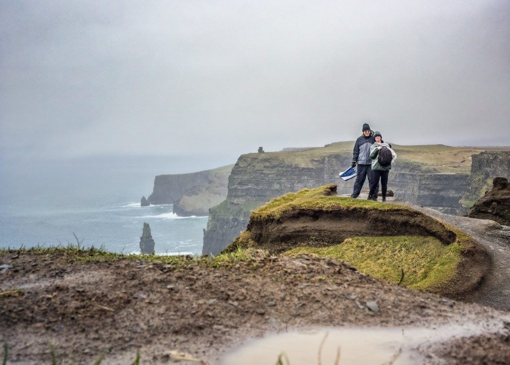 Cliffs Of Moher - The Other Side by rosiekerr