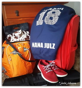 17th Mar 2018 - Bags packed...