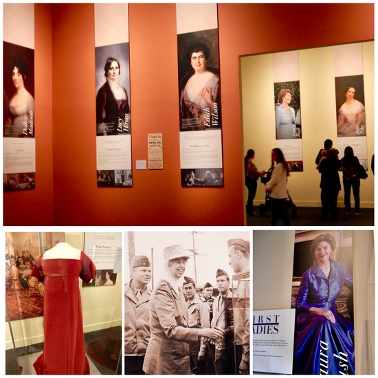 """The """"First Ladies: Style of Influence"""" exhibit by louannwarren"""