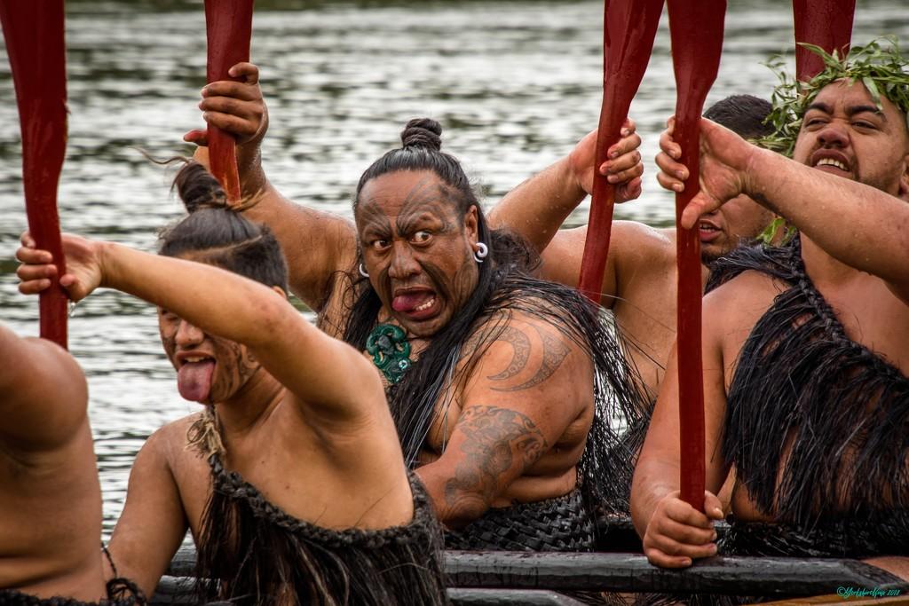 Salute to the Maori King by yorkshirekiwi