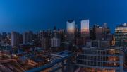 18th Mar 2018 - Blue Hour Panorama
