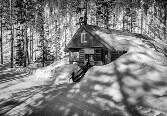 Shadows on the Cabin by 365karly1