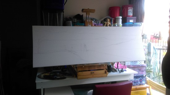 My Next Painting by mozette