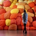 Sheila Hicks Exhibition at the Pompidou Centre by jamibann