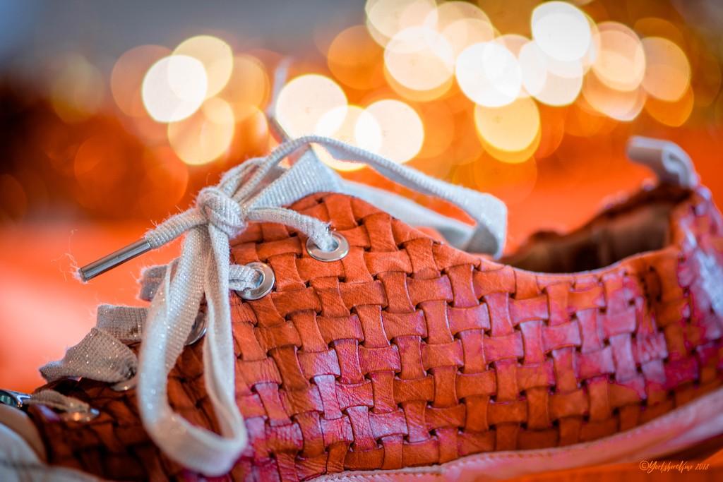Orange Shoe by yorkshirekiwi