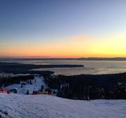 10th Mar 2018 - Grouse Mountain Sunset