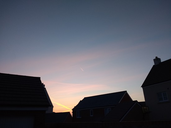 This mornings sky by johnsutton