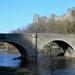 The bridge over the river Teme,,