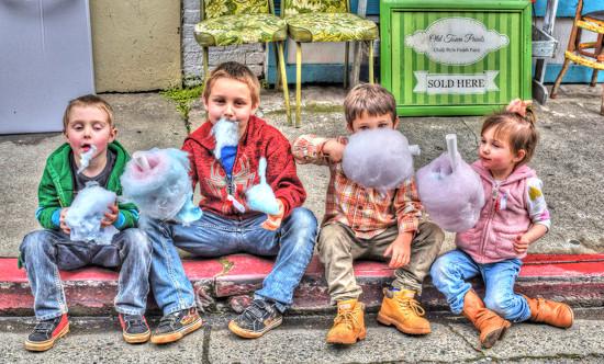 Cotton Candy Kids  by joysfocus
