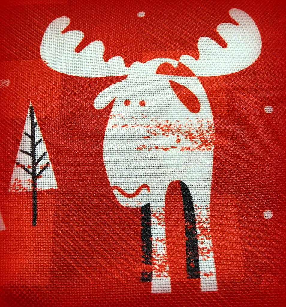 RED moose! by homeschoolmom