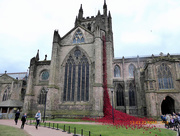22nd Mar 2018 - Weeping Window...at Hereford cathedral,]..
