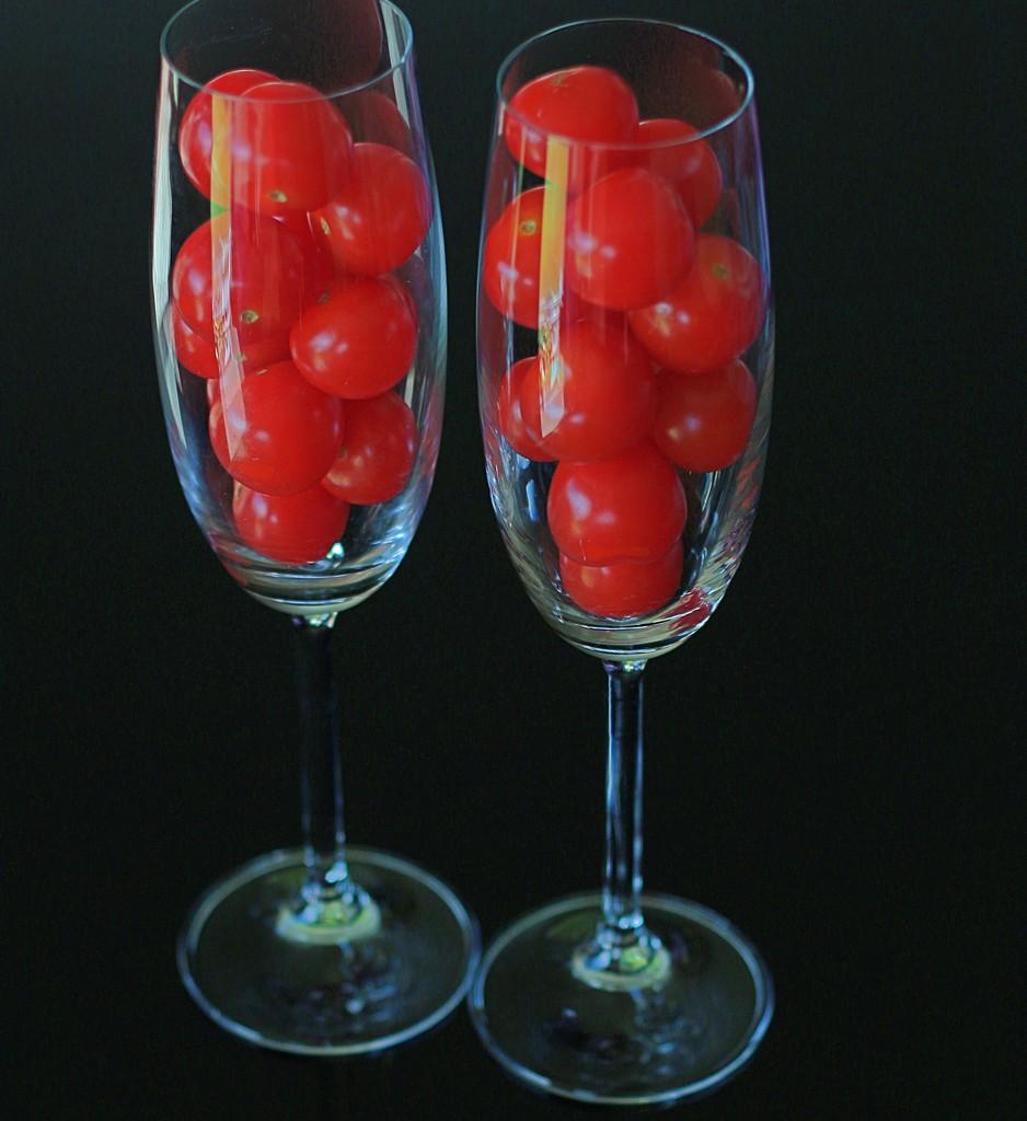 Celebrating cherry tomatoes by kiwinanna