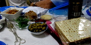 25th Mar 2018 - Some of the ingredients for our Passover meal last night