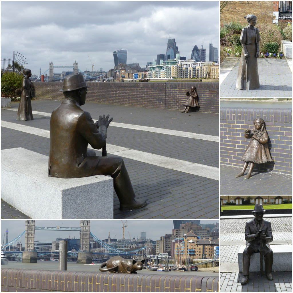 The Salter Statues - Dr Salter's Daydream by susiemc