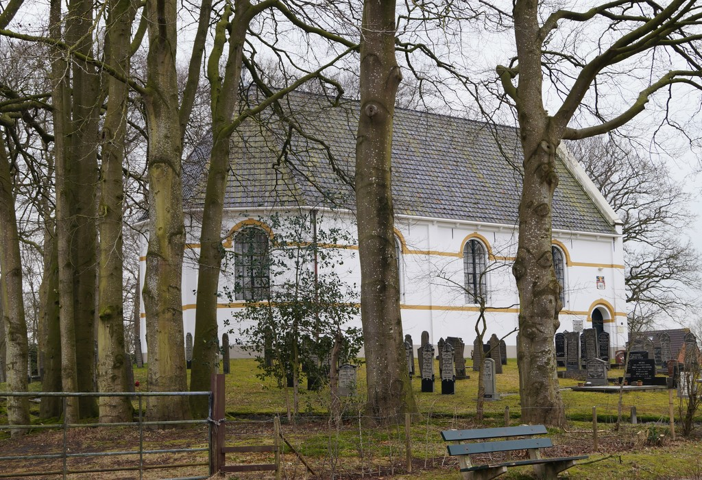 white church by gijsje