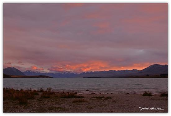 Lake Tekapo.... Looking the Other Way .. by julzmaioro