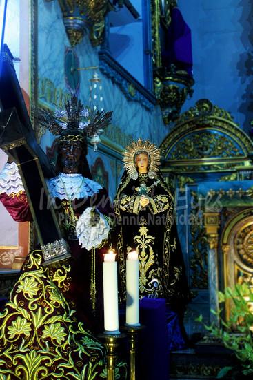 Las Angustias de la Virgen by iamdencio