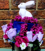 28th Mar 2018 - My hat for the Easter bonnet Parade today