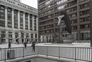 28th Mar 2018 - Quiet Moment at Daley Plaza with Picasso