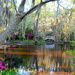 Tranquil scene at Magnolia Gardens by congaree