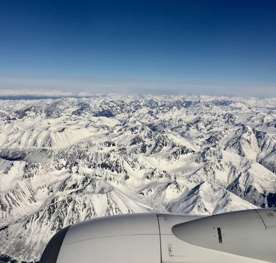 Flying to Barrow, Alaska by stefneyhart