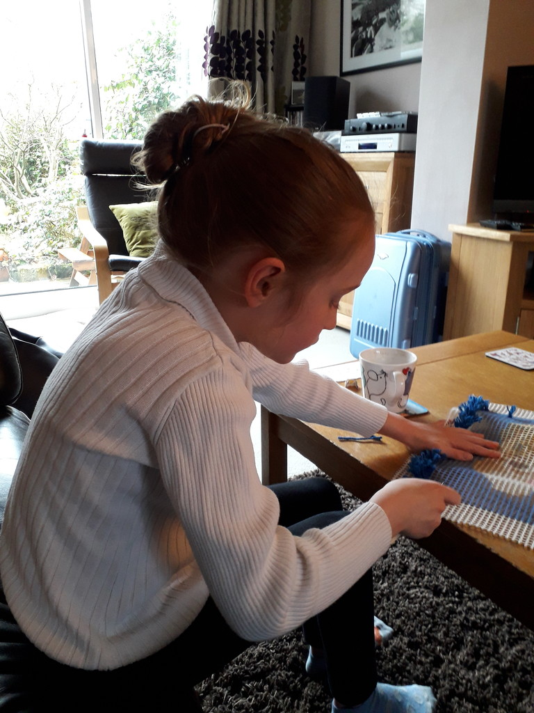 A new hobby for Laura by mave