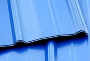 30th Mar 2018 - BLUE metal roof