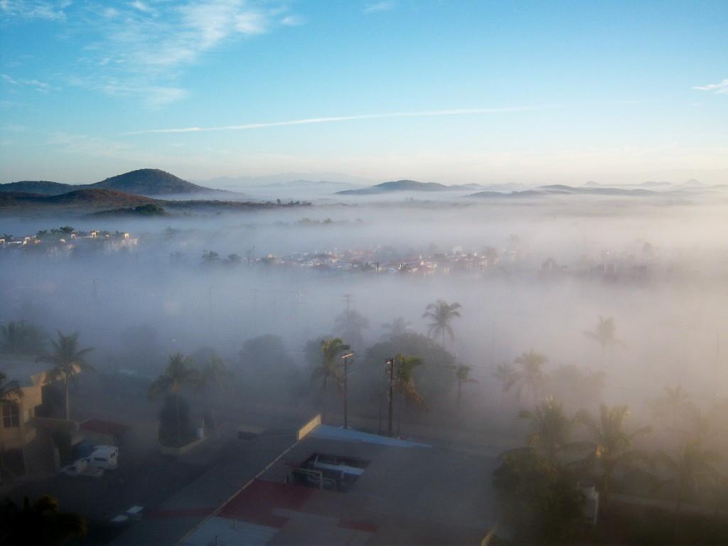 Rising fog by bruni