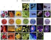 1st Apr 2018 - Rainbow Calendar