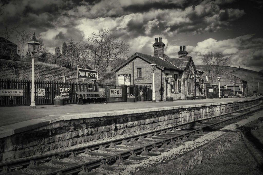 Oakworth Station. by gamelee