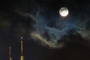 31st Mar 2018 - Full Moon Rising