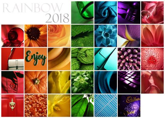 Rainbow Challenge 2018 by m2016