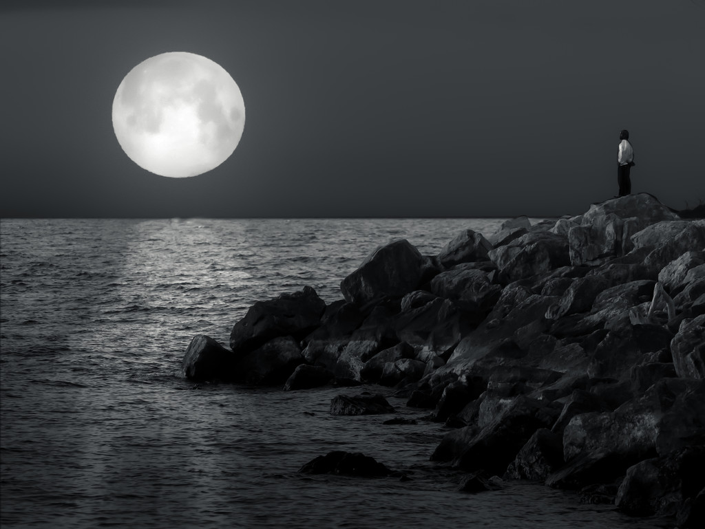 moonset by northy