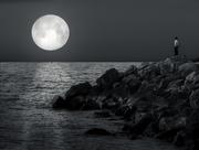 1st Apr 2018 - moonset