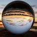 Crystal Ball Sunset by onewing