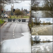 3rd Apr 2018 - The river has overflowed