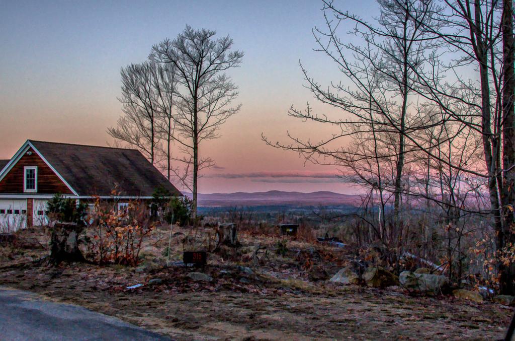 Not the sunrise side by joansmor