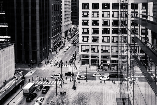 Inland Steel Building #7...Street Life!  by ukandie1